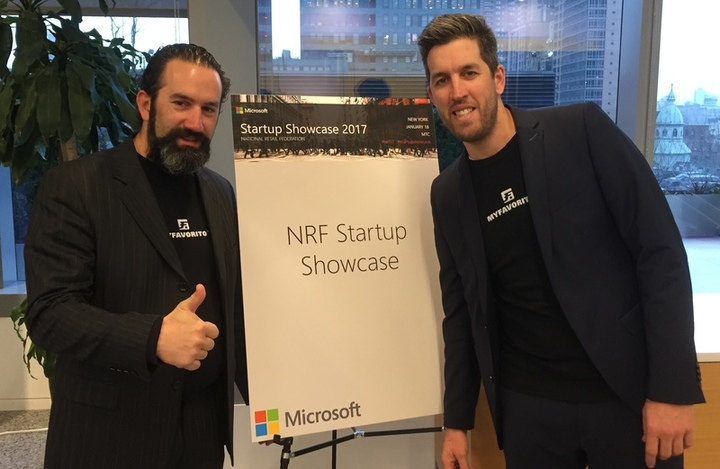 Microsoft presents MyFavorito to its retail customers at NRF in New York City