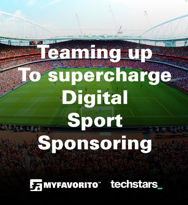 Techstars and MyFavorito team up to supercharge Digital Sport Sponsoring